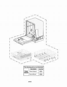Kenmore Elite 72214693610 Dishwasher Parts