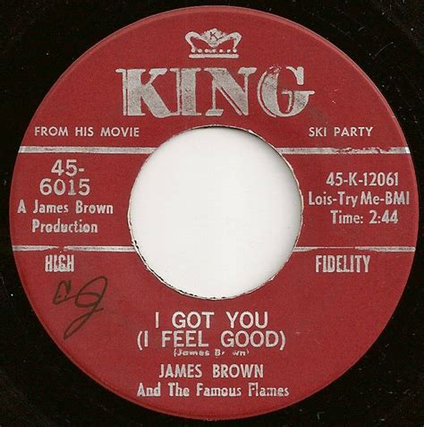 James Brown And The Famous Flames*  I Got You (i Feel