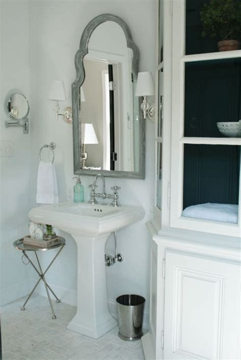 Bathroom Mirrors With Sconces by Like The Mirror But It Looks A Bit Top Heavy With The