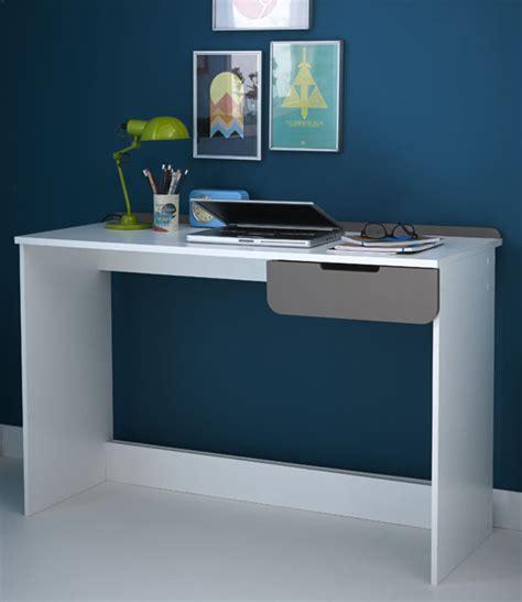 basika bureau bureau sacha blanc perle gris basalte