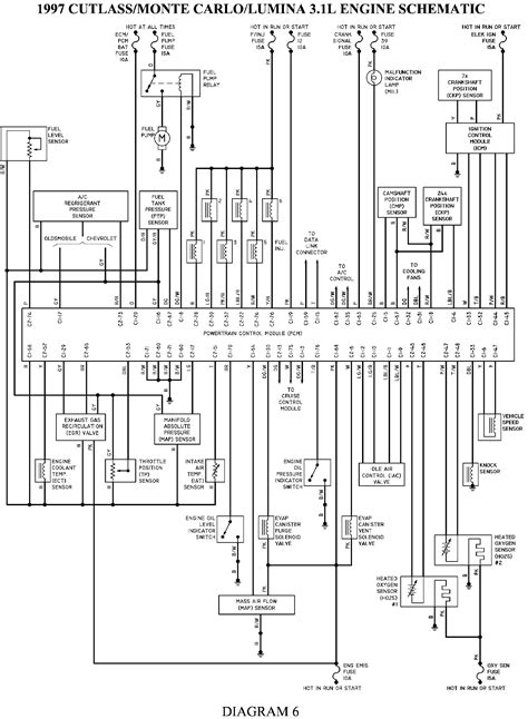 98 Monte Carlo Wiring Diagram by 97 Is There A Fuse Or A Relay That Could Be Out Causing