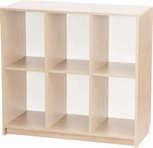 Meuble Casier Rangement : nice casier de rangement bois 6 meuble 6 casiers rangement bois mobilier novum ludesign ~ Teatrodelosmanantiales.com Idées de Décoration