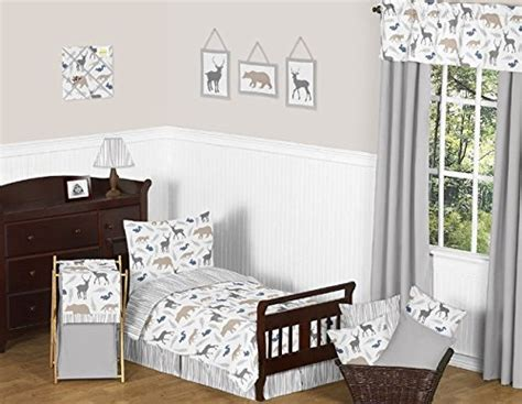 Sweet Jojo Designs Fitted Crib Sheet For Woodland Animals