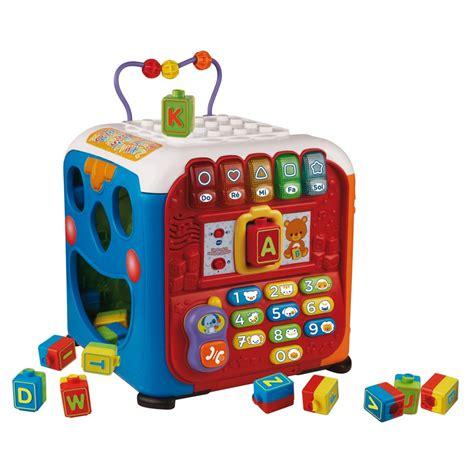 siege de bain interactif 2en1 vtech cube multi activit 233 s sonore de baby smile