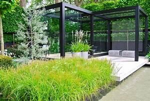 Jardin Paysager Exemple : le jardin moderniste wui design architecte paysager et designer ext rieur ~ Melissatoandfro.com Idées de Décoration