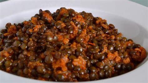 cuisiner lentilles lentilles vertes du puy à la bolognaise recettes site