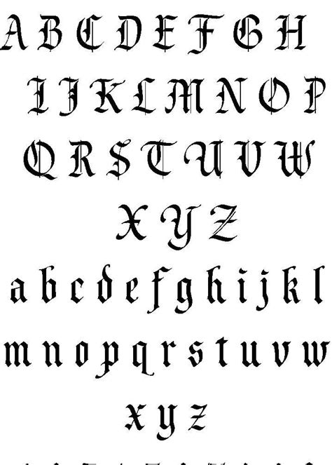 Tattoo Lettering | Lettering Tattoos Fonts Tattoo Designs | Estilos de letras para tatuagem
