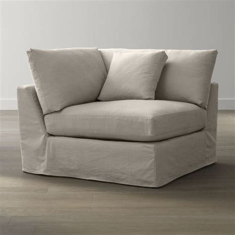 slipcover only for lounge corner contemporary