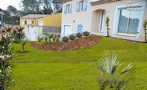 amenagement paysager du jour un jardin mediterraneen With jardins et terrasses photos 3 amenagement dun espace vert avec terrasse par le