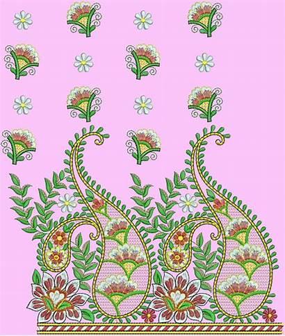 Embroidery Pallu Saree Indian Sarees Designs Embdesigntube