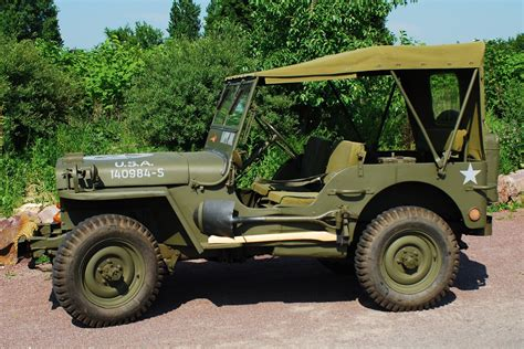 Willys Mb 1944 Jeep Army Vehicles Increased Patency Times