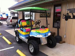 Our Custom  U0026quot Beachin U0026quot  Golf Cart