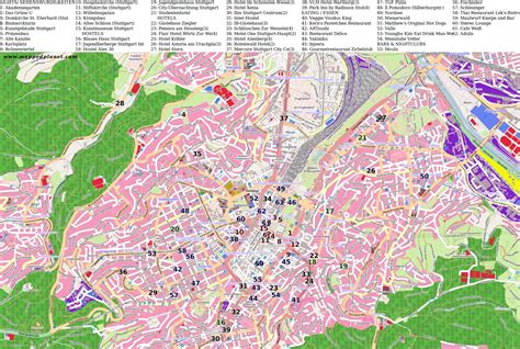 stuttgart on map city maps stuttgart