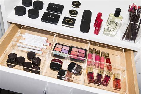 makeup organization tips   itg beauty closet