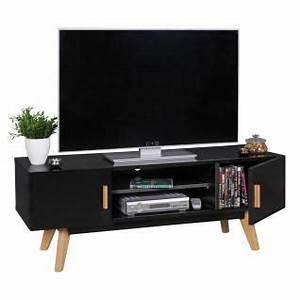 Lowboard Schwarz Holz : tv lowboard schwarz online bestellen bei yatego ~ Indierocktalk.com Haus und Dekorationen