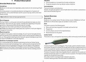 Biotronik Se And Kg Bm2 Biomonitor 2
