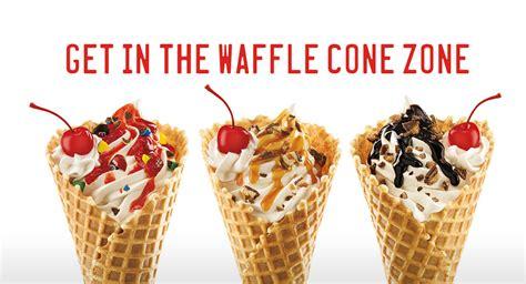news sonic  waffle cone sundaes brand eating