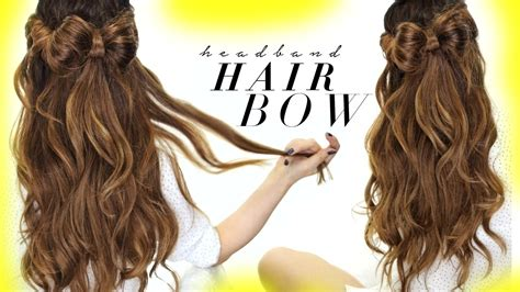 Half Hairstyles by Hair Bow Half Updo Hairstyle Hairstyles For School
