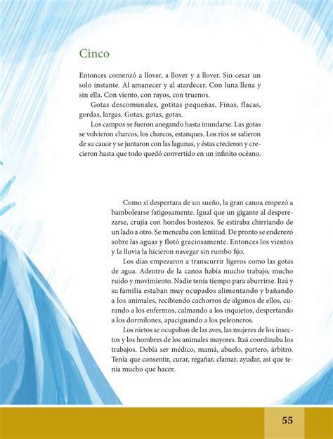 Español Libro De Lectura Sexto Grado 20162017 Online