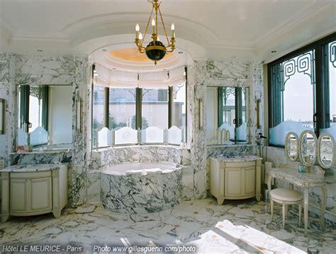 chambre de reve photo d 39 hotel htel le meurice suite etoile salle de bain