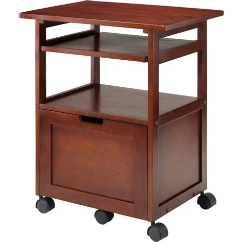corner desk with shelves wood liso corner desk with shelf espresso walmart com