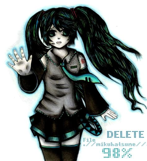 The Disappearance Of Hatsune Miku Anime And Disappearance Of Hatsune Miku By Crazed In Theory On