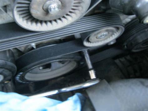 mercedes benz  class    replace serpentine belt