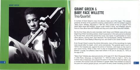 Grant Green & Baby Face Willette