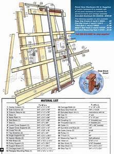 Vertical Panel Saw Plans • WoodArchivist