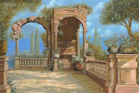 la terrazza sul lago la terrazza sul lago painting by guido borelli