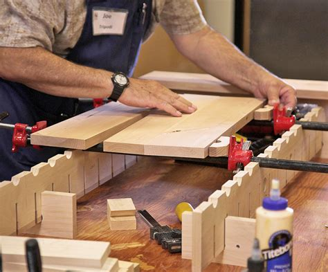 improve  solid panel glue ups woodworkers