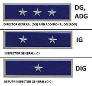 Ig Full Form In Police Department by Police Ranks And Insignia Of India Wikipedia
