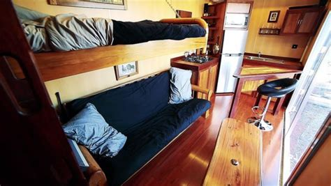 Boat Builder Shipping Container Home by Boat Builder S 20 Shipping Container Tiny Home