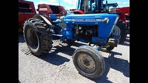 Sold  1970 Ford 5000 Diesel Utility Tractor