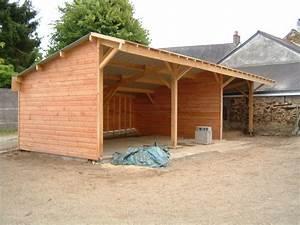 Hangar En Kit Bois : garage en bois en kit ~ Premium-room.com Idées de Décoration