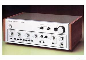 Sony Tae-5450 - Manual - Stereo Pre Amplifier