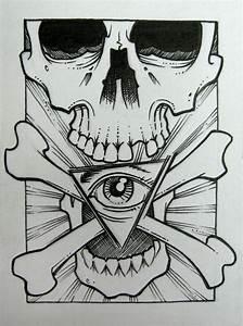 skull and bones by GrizzlyGreenEyes on DeviantArt