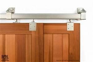 heavy duty industrial bypass box rail barn door hardware With box rail sliding hardware kit