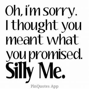 Random things I find online | Broken promises, You ve and ...
