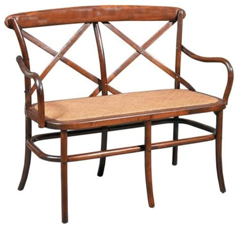 Traditional Settee by Bentwood Settee Bench Traditional Indoor Benches By