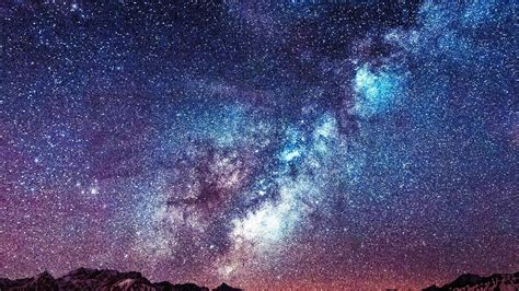 Milky Way The Night Sky Wallpaper Studio