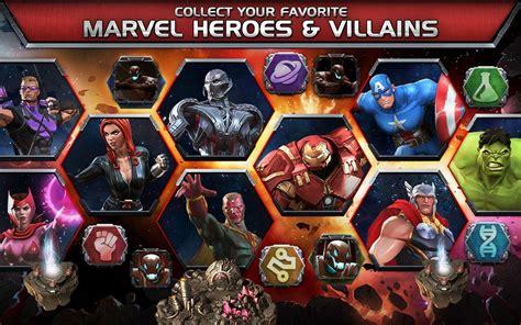 marvel contest champions superhero action fighting arena