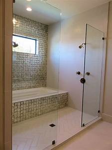 Wet, Room, Shower, And, Tub, Combo