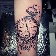Tatouage Montre A Gousset Avant Bras : tatouage montre femme kolorisse developpement ~ Carolinahurricanesstore.com Idées de Décoration