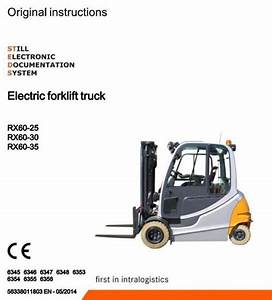 Still Electric Forklift Truck Rx60