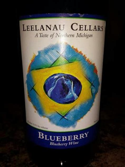 leelanau cellars blueberry  wine info