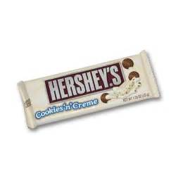 Cookies and Cream Hershey Bar