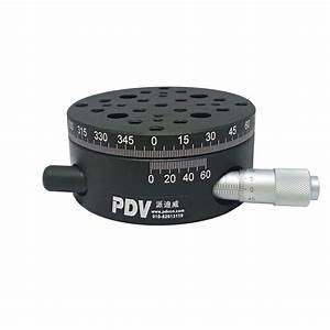 Pt Sd206 R Axis Manual Rotary Stage Manual Rotation Stage
