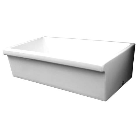whitehaus sinks kitchen whitehaus collection quatro alcove reversible farmhaus 1070