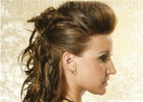 Dance hairstyles for short hair